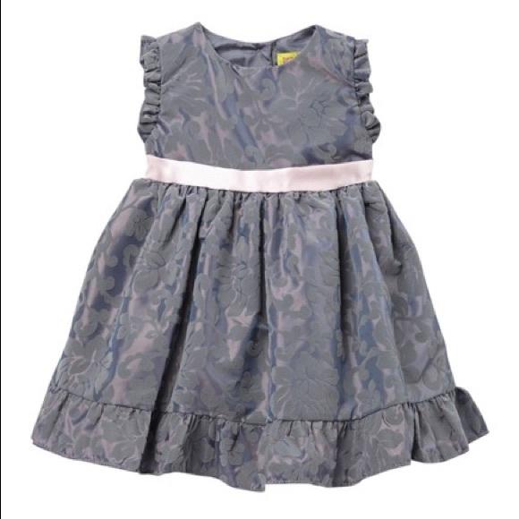 Penelope Mack Other - Flocked Baby Girl Dress